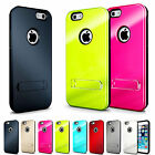 Slim Fit Shock Absorbing Dual Layer Case Cover with Kickstand For iPhone 6 4.7""