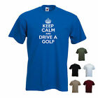 'Keep Calm and Drive a Golf' Volkswagen VW GTI Funny T-shirt
