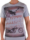 Oxygen Men's Designer Tee Shirt in Grey (S,M,L,XL,2XL ,3XL and 4XL) RRP $49.95