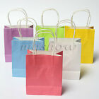 1/5pcs Luxury Party Bags - Kraft Paper Gift Bag With Handles Recyclable Loot Bag