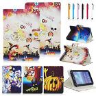 USA Hallowmas Gift Leather Stand Case Cover For most 9.7 10.1 inch Tablet PC