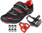 Gavin Road Bike Cycling Shoes w/ Pedals & Cleats