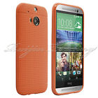 Slim Fitted Soft Gel Silicone Case Back Cover Anti-Slip Skin For HTC ONE 2 M8