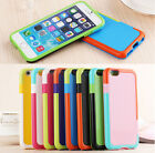 Lastest Fashion Cool Hybrid Mix TPU PC Double Color Cover For Iphone 5 6 6 Plus