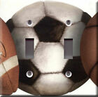 Light Switch Plate Cover - Sports balls model 1 -  Competitive game athletic fun