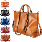 Women Lady Leather Handbag Shoulder Crossbody Tote Vintage Satchel Boho Bag Sale