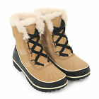 Sorel Women's Tivoli II Waterproof Suede / Leather Winter Boots Curry