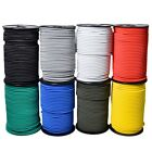 ELASTIC BUNGEE ROPE SHOCK CORD TIE DOWN 3MM 4MM 5MM 6MM 8MM 10MM VARIOUS COLOURS