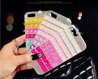 Luxury Bling Crystal Diamonds Hard Clear Case Cover For Apple iPhone5C CSB