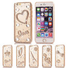 3D Clear Bling Diamond Rhinestone Crystal Hard Case Cover for iPhone 6 4.7 inch