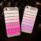 New Bling Candy Crystal Rhinestone Hard Case Cover For iPhone 5 5G 5S Tide New