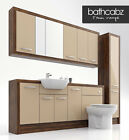 CAPPUCCINO OLIVEWOOD BATHROOM FITTED FURNITURE 2000MM