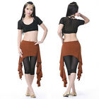 Dancewear Belly Dance Costume Tribal Skirt 12 Colors