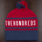 The Hundreds Ziggy Bobble Beanie In Grey,Red,Khaki Brand New 100% Original.
