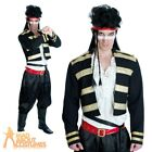 1980s Adam Ant Costume New Romantic Prince Charming Mens Fancy Dress Pop Star