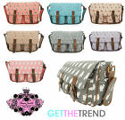 Womens Anna Smith Cat Kitty Cross Over Body  Puppy Dog Satchel Messenger Bag