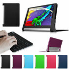 """For Lenovo Yoga Tablet 2 10"""" (Android) Folio Case Cover w/ Bluetooth Keyboard"""