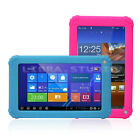 """2 Color Soft Silicone Back Protector Case Cover For 7"""" Android Tablet PC Pad Kid"""