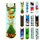 Fashion Snowman Christmas Series Design Women Men Cotton Blend Gift Socks Hot