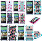 FOR HTC Desire 510 TUFF solid Hybrid hard Case Phone Cover accessories