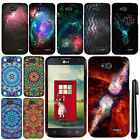 For LG Optimus L90 D405 D415 Mandala Galaxy PATTERN HARD Case Phone Cover + Pen