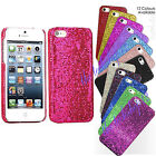 Diamond Sparkle Glitter Shine Bling Hard Back Case Cover For Apple iPhone 5 S SE