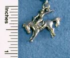 Rodeo Horse Bronco Western Cowgirl Add a Charm Slide On, Clip On or Belly Ring