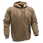 Kings snow camo hunting  King's olive Applique Hoodie mens hunting look