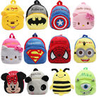 Toddler Kids Children Boy Girl Cartoon Backpack Schoolbag Shoulder Bag Rucksack