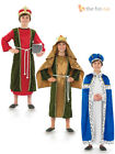 Boys King Costume Three Wise Men Christmas Nativity Play Childs Kids Fancy Dress