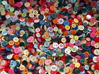 100g or 150g SMALL MIXED BUTTONS ARTS CRAFTS MIXED COLOURS  DOLL BUTTONS CRAFTS