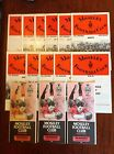 Moseley Rugby Programmes 1972 - 1990