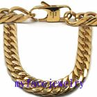 11MM Never Fade IP GOLD 316L Stainlesss Steel  Hand Polished Necklace Bracelet