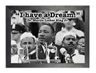 Martin Luther King Jr. 2  American Baptist Minister Motivational Quote Poster