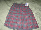 Royal Park Girls Size Wool Blend Skirt Style 134, Plaid #18. NWT