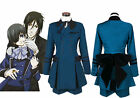 Black Butler Ciel Phantomhive Cosplay Costume cospaly Full Set Outsite Unsex MM