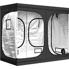 iPower Grow Tent Reflective Mylar Hydroponic Indoor Hut Clone Plant Room for HPS
