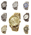 Oversize Style Stainless Steel Watch Big Daddy Large Dial Men's Fashion Designer