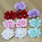 Vogue 2x Party Rhinestone Flower Headwear Hair Clips Accessories For Girls Lady