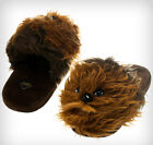 New Star Wars Chewbacca Adult Men's Home Slippers (small:  6-7)