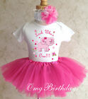 Elephant Pink Adorable Infant Baby Girl 1st First Birthday T