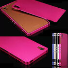 Ultra-Thin Luxury Metal Aluminum Bumper Hard Case Cover Skin for Sony Xperia Z3