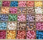 100 Mini Bath Bombs - Chill Pills / Marbles, wedding favour / baby shower gifts