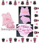 Baby Girl Birthday Summer Outfit 6 12 18 24 Months, Pink & Cupcake Candle Design