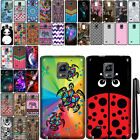 For Samsung Galaxy Note Edge Cute Design SILICONE Rubber Case Phone Cover + Pen