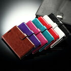 For Samsung Galaxy Note 4 Note Edge Luxury FM Leather Wallet book Case holster