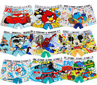 8PCS Cute Cartoon Cotton Boxer Briefs Underwear Underpant for Boys Kids Age: 2-9