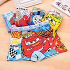 8PCS Cartoon Cotton Boxer Briefs Underwear Underpants for Boys Kids Age 3-9 year