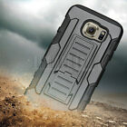 Heavy Duty Protective Armor Tough Hybrid Rugged Hard Stand Case Shockproof Cover