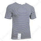 Russian Navy Telnyashka - Blue Striped T-Shirt Sailor Naval Genuine Military   <br/> Brand New 100% Cotton - 240g Material - Slim &amp; Stylish
